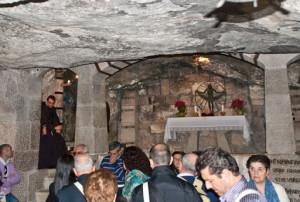 Пещеры под собором