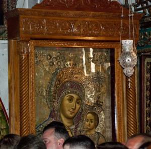 Уникальная икона Вифлеемской Богородицы